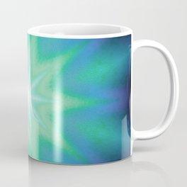 Teal Mint Purple Starburst Coffee Mug