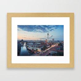 Berlin Classic Framed Art Print
