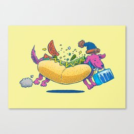 Chicago Dog: Lunch Pail Canvas Print