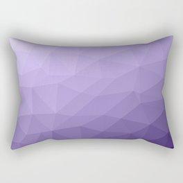 Ultra violet purple geometric mesh Rectangular Pillow