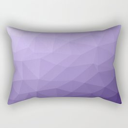 Ultra violet purple geometric mesh pattern Rectangular Pillow