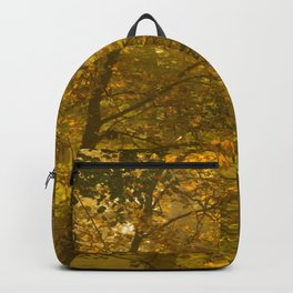 Forest in Fall Color Autumn Scene #decor #society6 #buyart Backpack