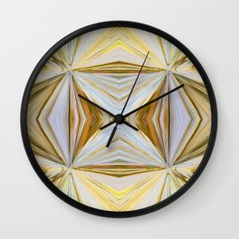 350 - Abstract Palm Fronds Design Wall Clock