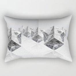 News Cubes 3 Rectangular Pillow