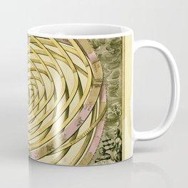 Antique Geometric Univers Zodiac Sign & Planet Coffee Mug