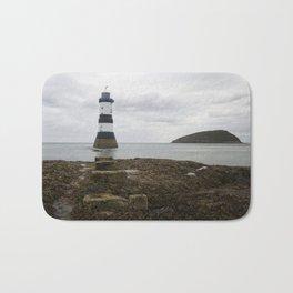 Trwyn Du Lighthouse Bath Mat