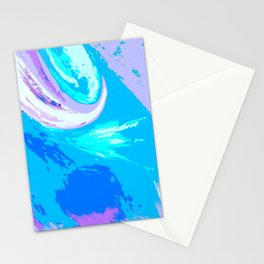 Abstract Untitled Creation by Robert S. Lee Stationery Cards