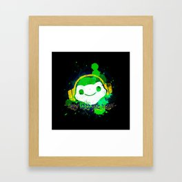 Let's drop the beat! Framed Art Print