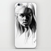 targaryen iPhone & iPod Skins featuring Daenerys Targaryen by Taylor Barron
