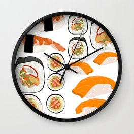 Wasabi Free Wall Clock
