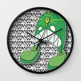 Loot on Foot Wall Clock