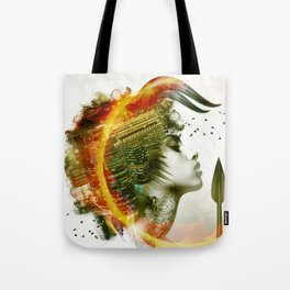 Afro Warrior Tote Bag