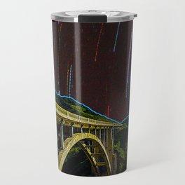 Bixby Creek Bridge Stars Travel Mug