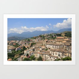 Altomonte, Italy Art Print