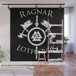 Ragnar Lothbrok | Viking Valhalla Norge Mythology Wall Mural