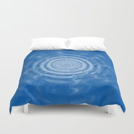 Ripples_blue Duvet Cover