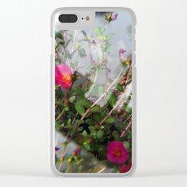 Summer Lovin' II Clear iPhone Case