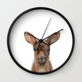littlest moose Wall Clock