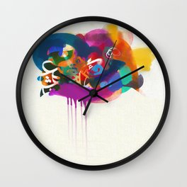"""""""Lost in Congestion"""" - signed Wall Clock"""
