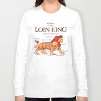 hakuna Long Sleeve T-shirts featuring THE LOIN KING by BeastWreck