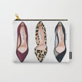 Three Heels Carry-All Pouch