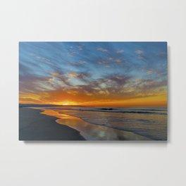 Peninsula Sunrise Metal Print