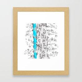 River Rapids Framed Art Print