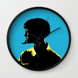 Katy Perr Portrait Art - This Is How We Do (Music Video)  Wall Clock