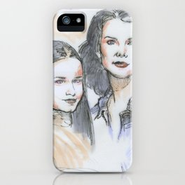 Lorelai & Rory iPhone Case