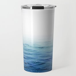 Calm Blue Ocean Travel Mug