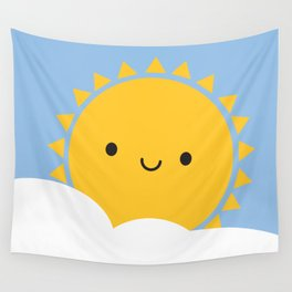 Good Morning Sunshine Wall Tapestry