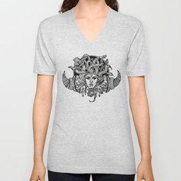 Medusa Mandala Unisex V-Neck