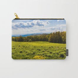 A View of the Blue Ridge Mountains from Shenandoah National Park Carry-All Pouch