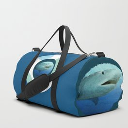 Shark Circles Duffle Bag