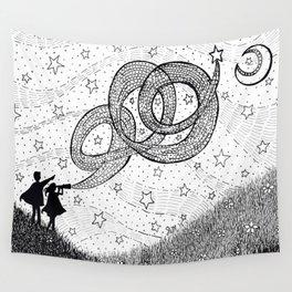 Bottling Starlight Wall Tapestry