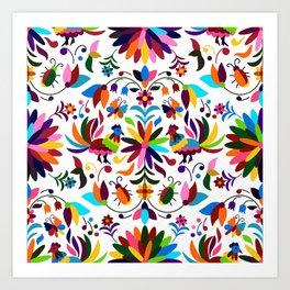 Mexico pattern Art Print
