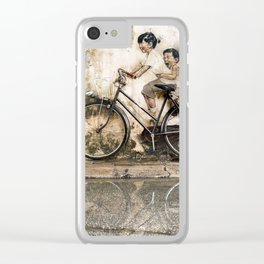 Reflections of Penang Clear iPhone Case