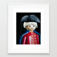 general Framed Art Prints featuring General by Kenneth Tsang