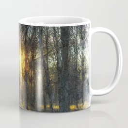 Early Morning Forest Art Coffee Mug