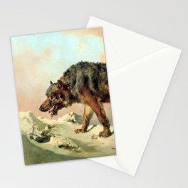 Sibirischer Wolf Stationery Cards