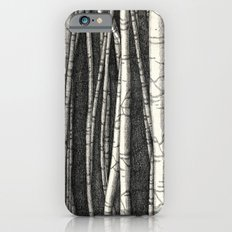Birch trees Slim Case iPhone 6s