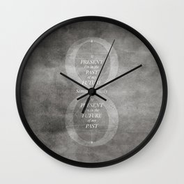 Continuum [BW VER] Wall Clock