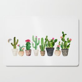 Cactus Cutting Board
