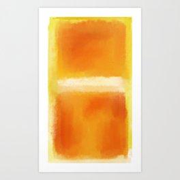 Mark Rothko Interpretation Art Print