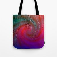 acid Tote Bags featuring Acid by GypsYonic