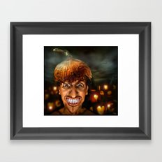 Hello Halloween ! Framed Art Print
