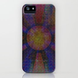 Surya Invocation (Sun) - Magick Square Yantra Tantra iPhone Case
