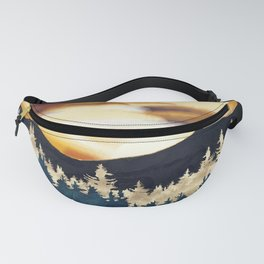 Fall Sunset Fanny Pack