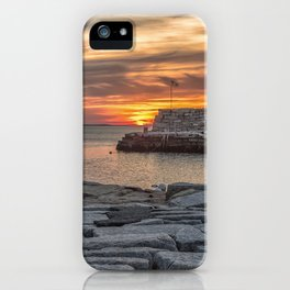 Sunset at Lanes cove 5-5-18 iPhone Case
