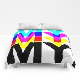 CMYK ON WH Comforters